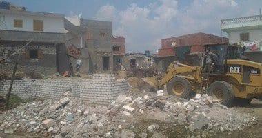 Photo of إزالة عدد 110 حالات تعد، اليوم الأحد، وذلك فى إطار حملات الإزالة , اخبار مصر اليوم الاحد 26-4-2015