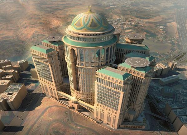 صورة صور اكبر فندق وقبة في العالم يوجد في مكة السعودية السياحة في السعودية مكة 2020