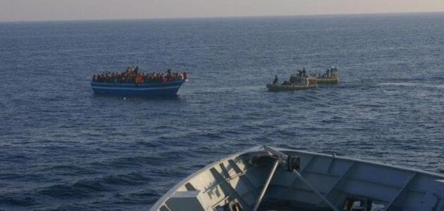 سفينة جديدة على متنها 400 مهاجر قادمين من بورما