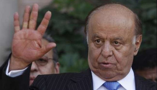 الرئيس اليمين عبد ربه منصور هادي