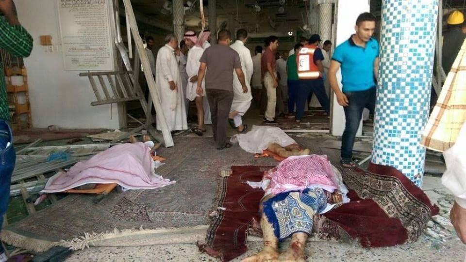 صور الانفجار في بلدة القديح في القطيف السعودية اخبار 22-5-2015 فيديو احداث