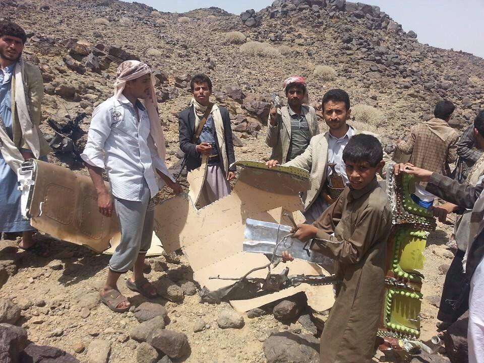 ypصور حطام الطائرة المغربية الي سقطت في صعدة اخبار اليمن 11 مايو 2015 اخر اخبار اليمن11-05-2015-989538