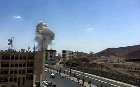 غارات على العاصمة صنعاء اليوم الأربعاء