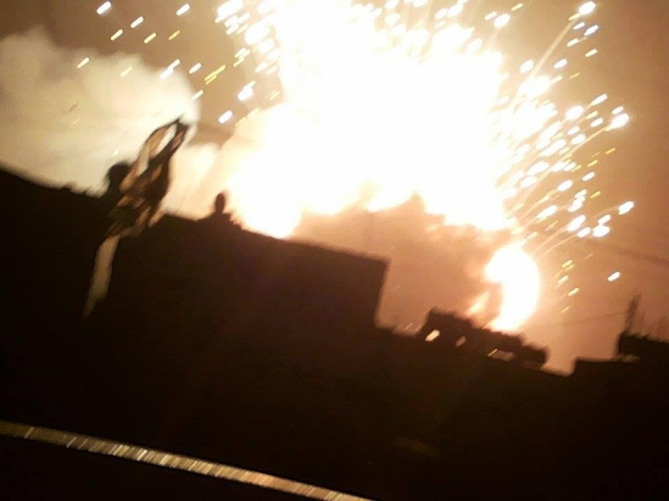 اخر اخبار اليمن المحلي غارات جويه عنفية على العاصمة اليمنية صنعاء 5-7-2015 صحافة نت