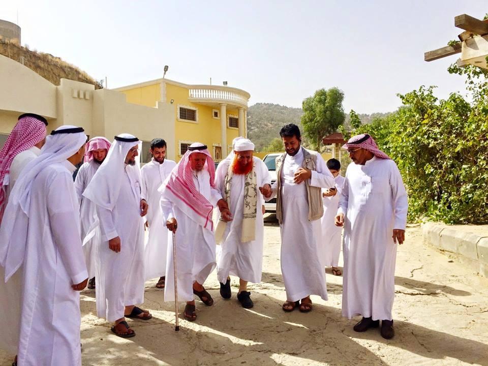 إستقبال الشيخ عبدالمجيد الزنداني من قبل الشعب السعودي