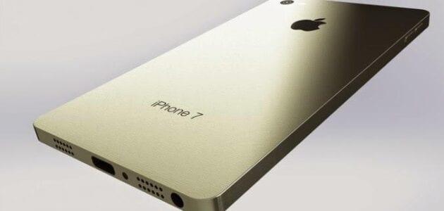 ايفون 7 سفن يتغلب على ايفون سكس صور , iphone 7 من ابل بدون شاحن كهرباء ويمكن الاستغناء عنه