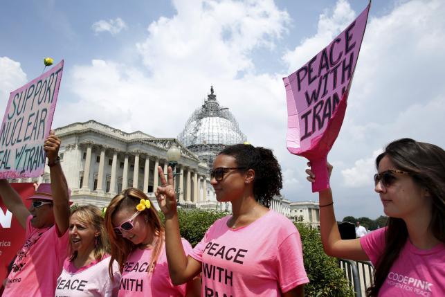 """صورة الديمقراطيون الامريكيون يتطلعون الى """"جدار النار"""" للحفاظ على اتفاق إيران"""