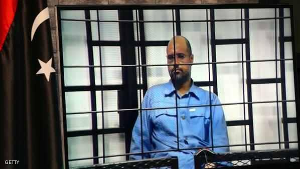 صورة محاكمة سيف الاسلام القذافي الثلاثاء القادم