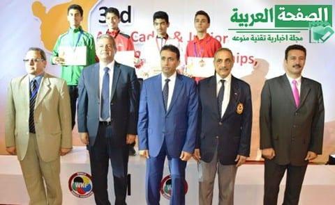 Photo of تتويج المنتخب المصرى بالبطولة العربية للكاراتيه للشباب