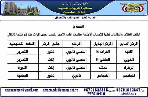Photo of جدول اختبارات الشهادة الثانوية 2020 في اليمن القسم العلمي – الأدبي 2019
