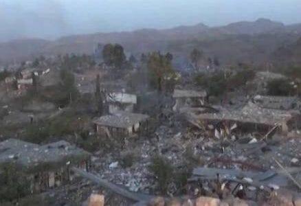 غارة في جسر لاحمة في المحويت وقطع خط صنعاء المحويت صحافة نت اخبار اليمن 15-9-2015