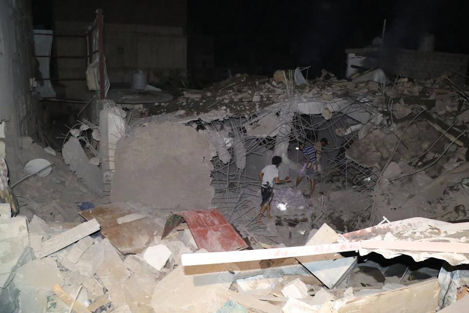 صورة إنفجارات عنيفة تهز العاصمة صنعاء من أخر اخبار اليمن 17-9-2015