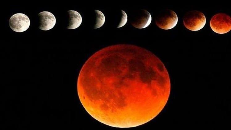 Photo of موعد خسوف القمر العملاق 28-9-2015 الإثنين القمر الدامي صور فيديو