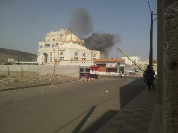 صورة اخر اخبار اليمن 8-9-2015 انفجارات في صنعاء صحافة نت