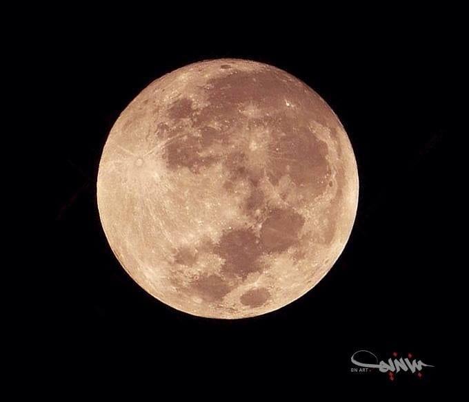 صورة صور خسوف القمر الدامي الكبير 28-9-2015  Lunar Eclipse