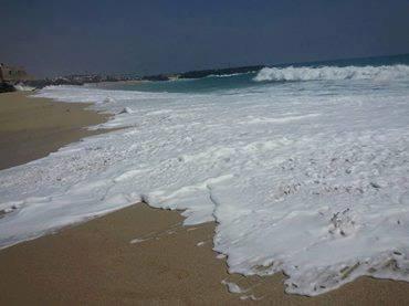 صور من ارتفاع منسوب الماء في حضرموت
