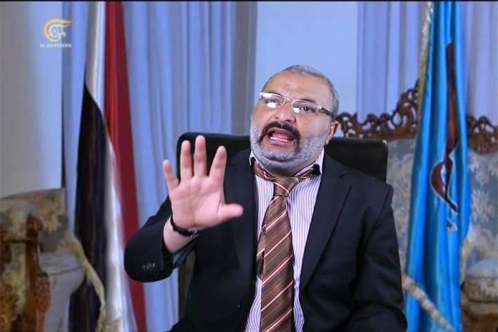 صورة مقابلة علي عبدالله صالح على قناة الميادين بطرقة محمد الحاوري صحافة نت