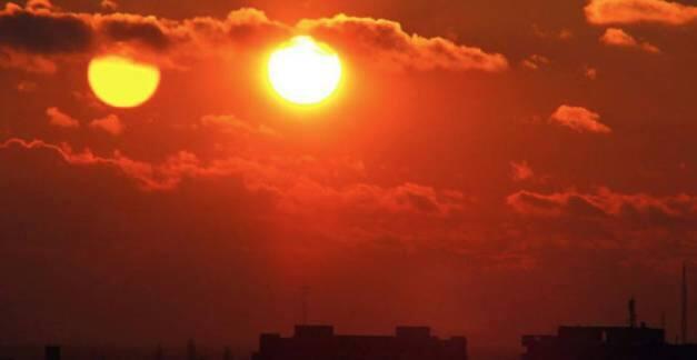 ظهور شمسين