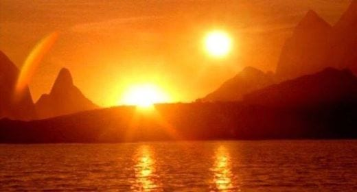 Photo of تحديث صور ظهور شمسين في كندا واليابان موعد قيام الساعة وشروق الشمس من مغربها !