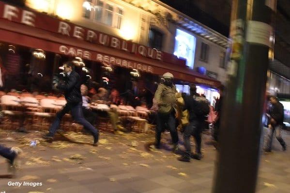 تفجيرات باريس على المطعم