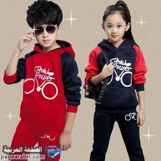 مجموعة صور أزياء شتاء 2021 بنات وأيضاً أطفال فساتين ملابس شتاء اطفال - الصفحة العربية