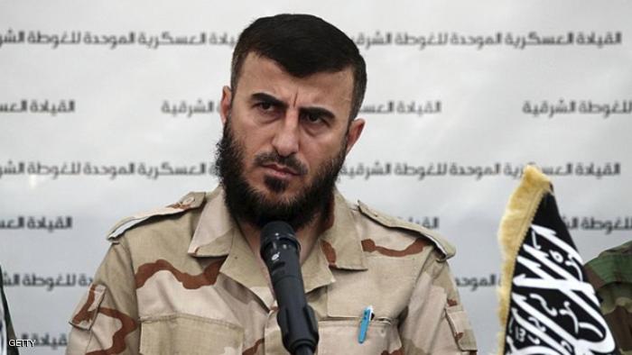 صورة غارة روسيا تتسب في مقتل زهران علوش من أخبار سوريا 26-12-2015 داعش