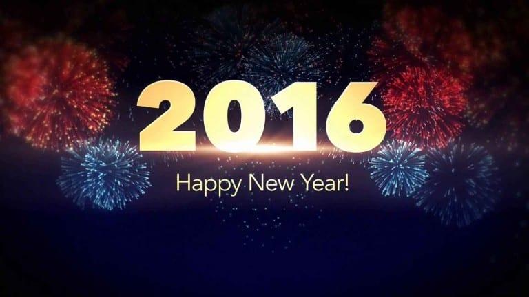 العام الجديد 2016