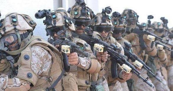 صورة انزال بري في دار الرئاسة من قبل قوات التحالف