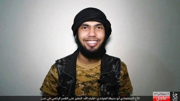 منفذ العملية ابو حنيفة الهولندي