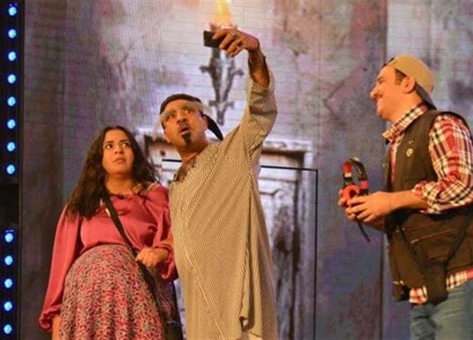 Photo of وش السعد مع إيمي سمير غانم تفاجيء الحضور