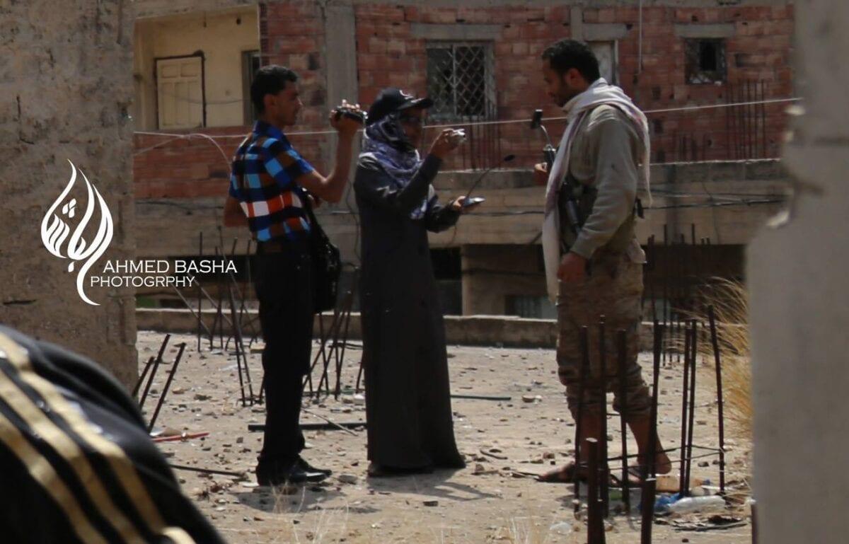 صورة مقتل و إستشهاد مصور قناة اليمن الشرعية احمد الشيباني
