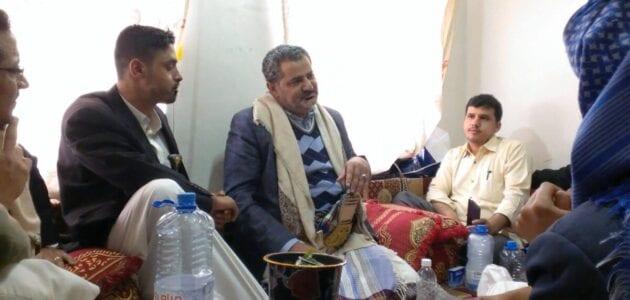 المدعو الإمام المهدي ناصر محمد اليماني يدعوا انصاره إلى الإفطار ويتحدث عن موعد عيد الفطر الثلاثاء