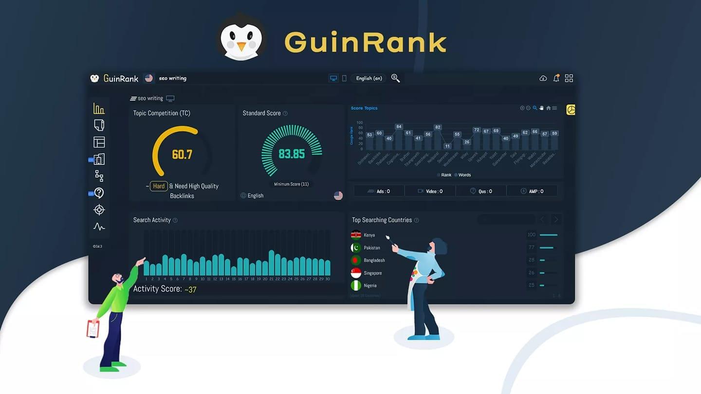 شرح اداة GuinRank SEO Community تحسين المقال في محركات البحث