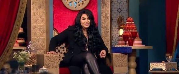 صورة صفعة للفنانة أحلام , أيقاف برنامج ذا كوين عبر قناة دبي بعدالحلقة الأولى 1