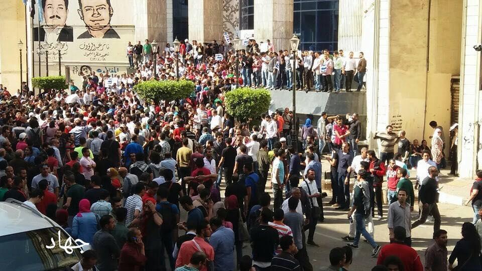 Photo of جمعة الأرض : مظاهرات اليوم الجمعة 15-4-2016 ضد السيسي في مصر