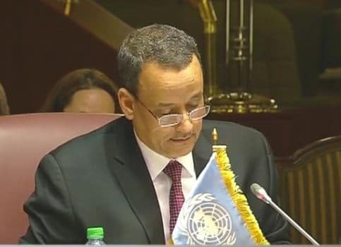 صورة ولد الشيخ: جلسة مشارات السلام اليمنية في الكويت اليوم 21-4-2016