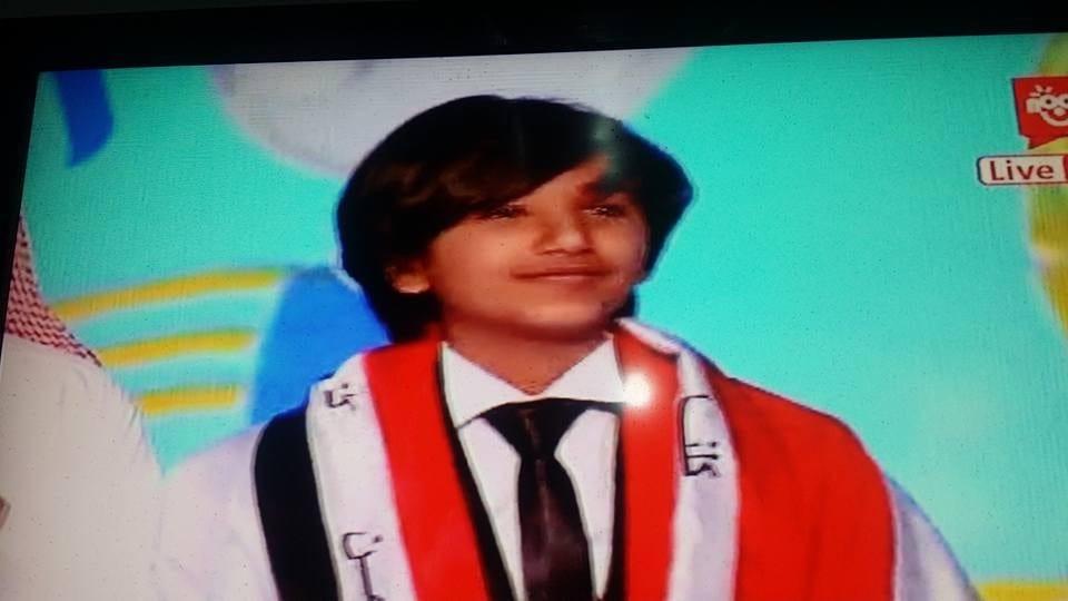 صورة فوز امجد الخولاني في برنامج النجم الصغير في البرايم الأخير من الحلقة الليلة