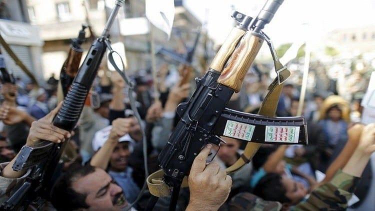 صورة جماعة الحوثي , وأنصار الله ليسوا منظمة إرهابية كما وصفها أمريكا