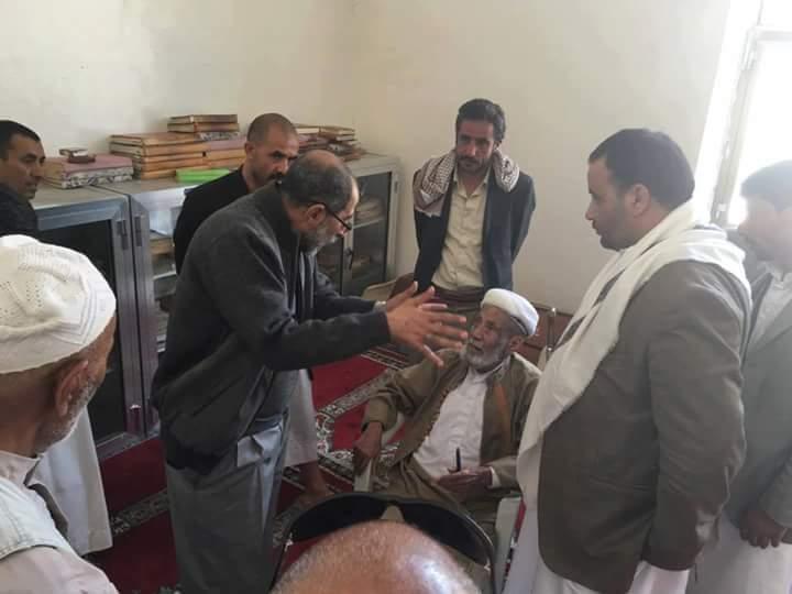 صورة حقيقةايقاف و إحراق مكتبة العلامة محمد العمراني من قبل الحوثيين صحافة نت