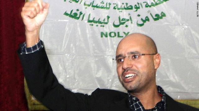 صورة سيف الإسلام القذافي هل سيعود للحكم خلفاً عن والده اخبار ليبيا 9-7-2016 اخبار ليبا الأن