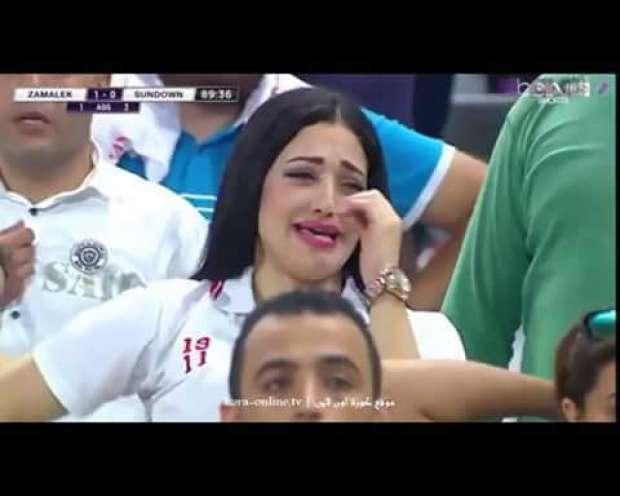 "Photo of صور دنيا الحلو قبل وبعد عرضها في مباراة الزمالك حسناء الزمالك, ""صور بنات 2017"" اجمل صور بنات"
