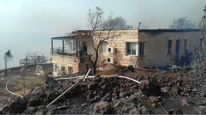 حرائق إسرائيل وحريق إسرائيل