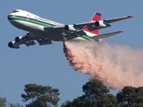 طائرة الإطفاء السوبر تانكر