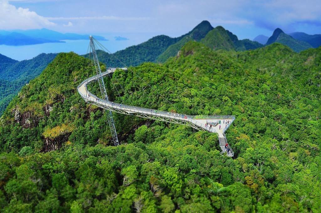 السياحة في ماليزيا 2017 جسر لانكاوي