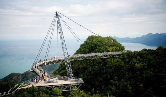 السياحة في ماليزيا جسر لانكاوي