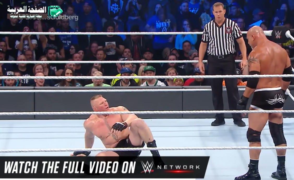 Goldberg vs. Brock Lesnar: Survivor Series