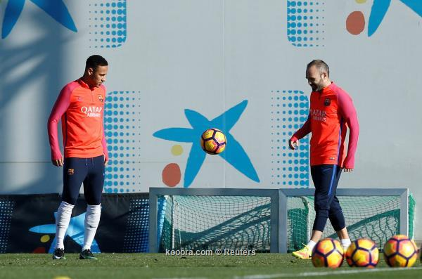 صورة هل سوف يشارك إنييستا في مباراة برشلونة وريال مدريد 3-12-2016 في الكلاسيكو