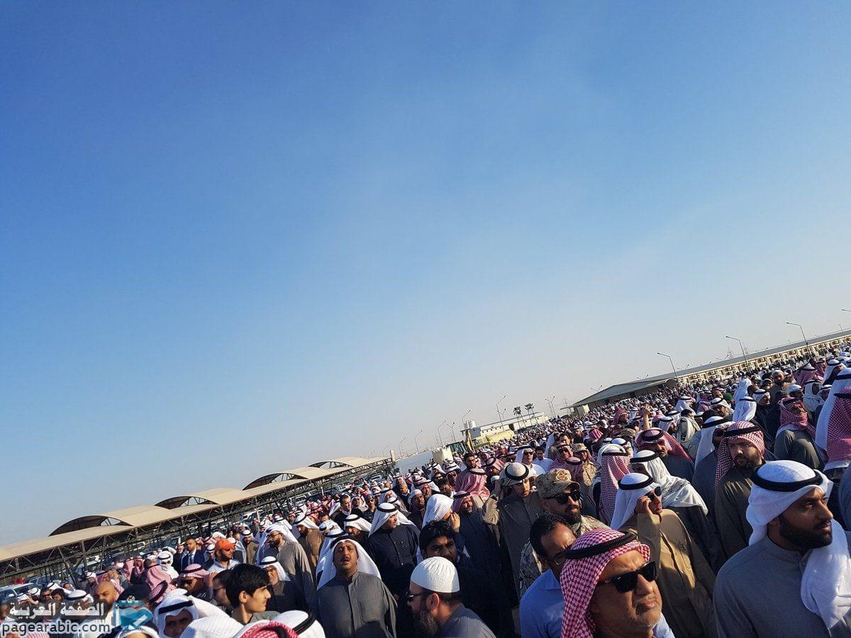جنازة مشاري العرادة