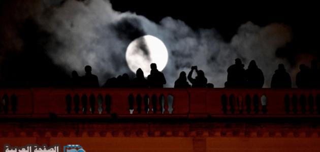 موعد خسوف القمر في السعودية 2020 القمر الدامي