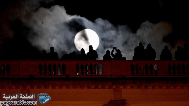 موعد خسوف القمر في السعودية 2020 القمر الدامي - الصفحة العربية